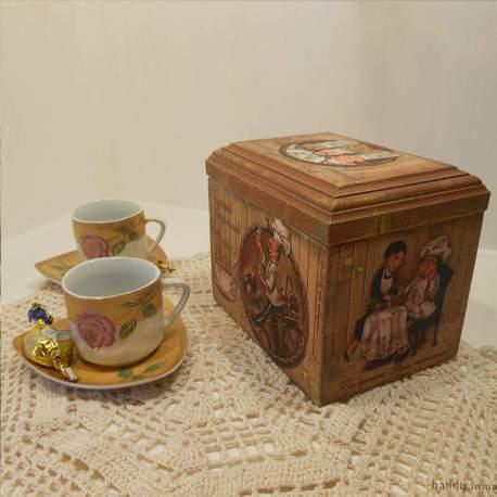 Чайная шкатулка Самый вкусный чай это...