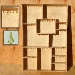 Полка органайзер для бижутерии