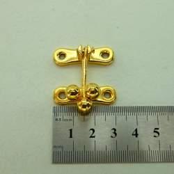 Замок золото 31х33мм