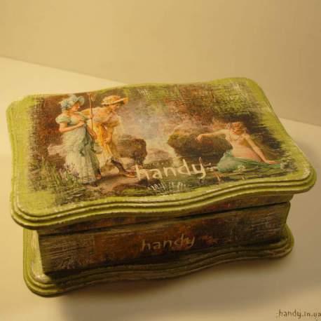 Шкатулка «Изящный век - Нимфа»