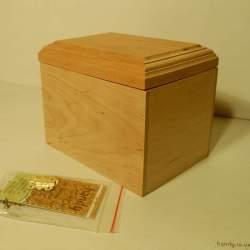 Шкатулка деревянная h-106