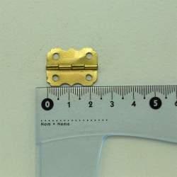 Петля фигурная 24*19 мм золото