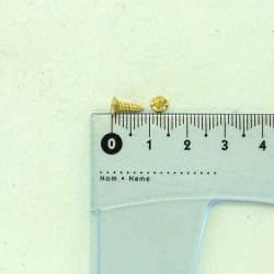 Шуруп золото 8*2,5*4,5 мм
