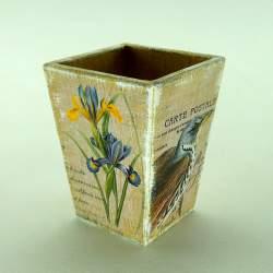 Кашпо карандашница «Carte Postale»
