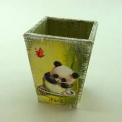 Кашпо карандашница «Панда»