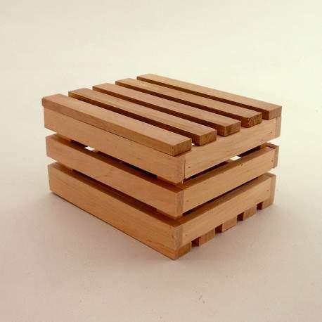 Ящик декоративный из дерева с крышкой мини