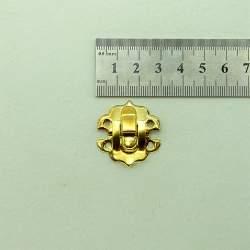 Замок золото 30*30 мм