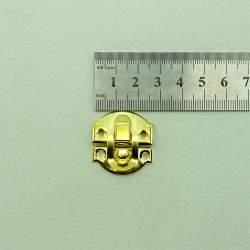 Замок золото 30*25 мм