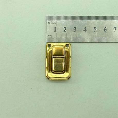 Замок золото 27*39 мм
