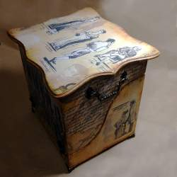 Шкатулка для книг