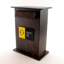 Почтовый ящик с логотипом