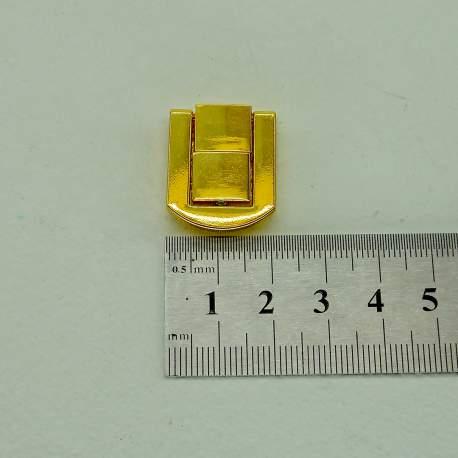 Замок золото 20*25 мм литой