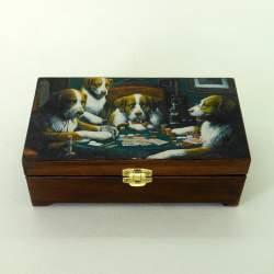 Купюрница «Покер с бархатом»