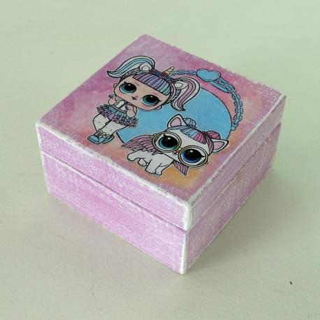 Шкатулка мини «Куклы лол»