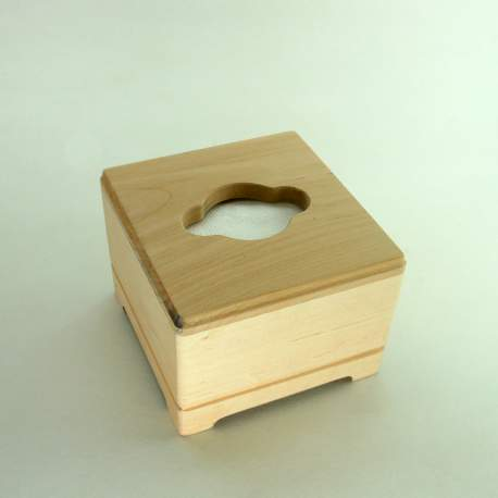 Шкатулка «Салфетница квадратная» из дерева
