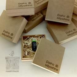 Крафтовая упаковка из MDF