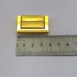 Замок литой 37*23мм, золото