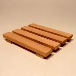 Мыльница деревянная, упаковка