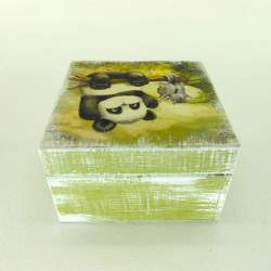 Шкатулка мини «Панда»