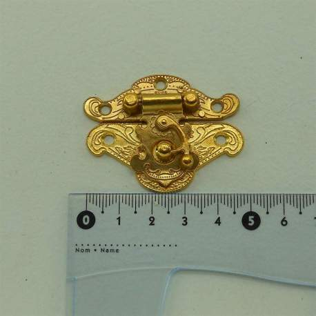 Замок золото 50*40 мм