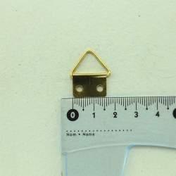 Ушко золото 23*16 мм