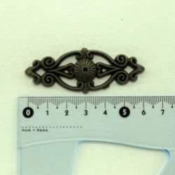 Декор старая латунь 62*25 мм
