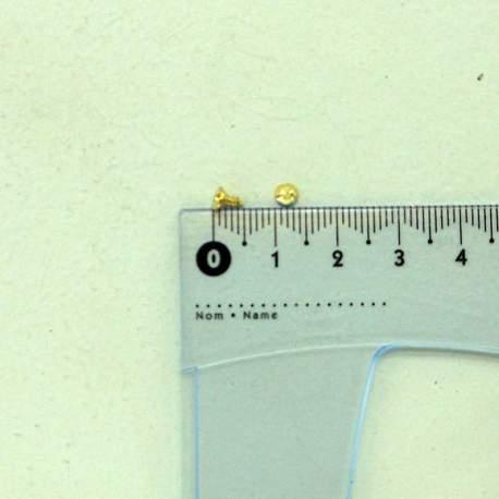 Шуруп золото 5*2*4 мм