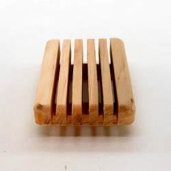 """Мыльница """"ЭКО"""" деревянная, упаковка"""